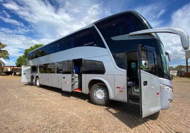 Ônibus Marcopolo DD Scania K 400 6x2 Único - Foto 5