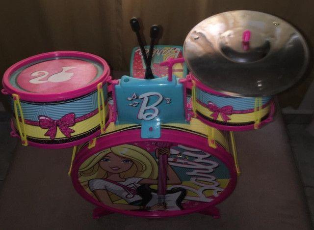 Bateria Infantil Fabulosa - Barbie - Foto 4