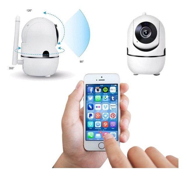 Câmera inteligente wifi ( novo na caixa) - Foto 5