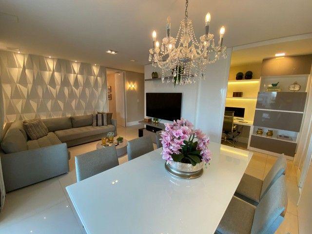 greenville etco 3 quartos Varanda Gourmet finamente decorado luxo Patamares