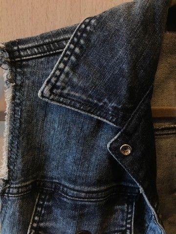 Colete jeans Lança Perfume - Foto 4