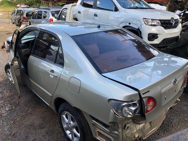 Toyota corolla 2007 1.8 vendido em peças  - Foto 2