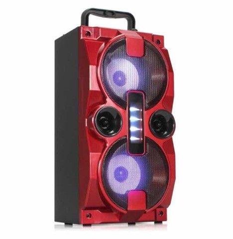 Caixa de Som Bluetooth S/ Fio Grasep C/ Rádio, PEN DRIVE e Controle 1500w<br> - Foto 2