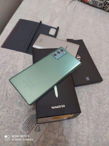Sansung not20 256gb 8de RAM 1mes de uso Nota Fiscal  - Foto 5