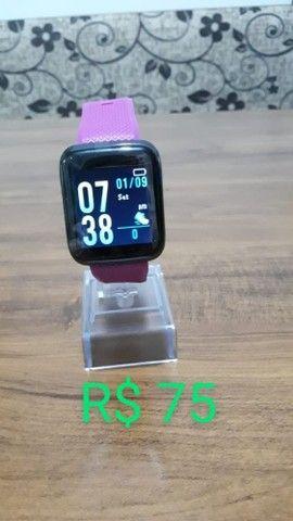 Relógios Smartwatch varios modelos à partir de 40 reais - Foto 4