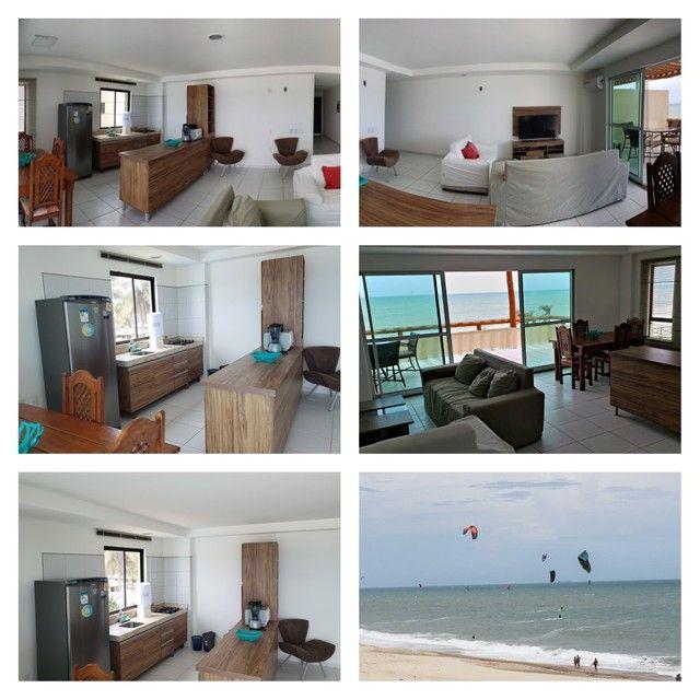 Apartamento para alugueo temporada  com pé na areia na praia do cumbuco 100 m2