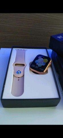 Smartwatch Pulseira inteligente Completa 44mm Bluetooth