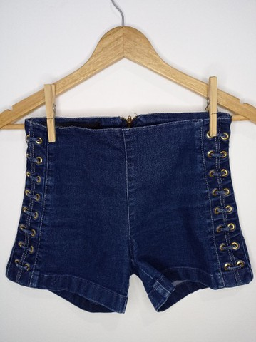 Short jeans feminino DAMYLLER - Foto 4