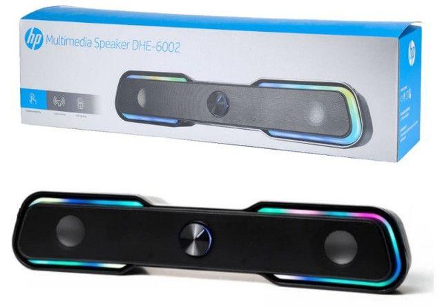 Caixa de Som HP Com LED - DHE-6002 - Foto 2