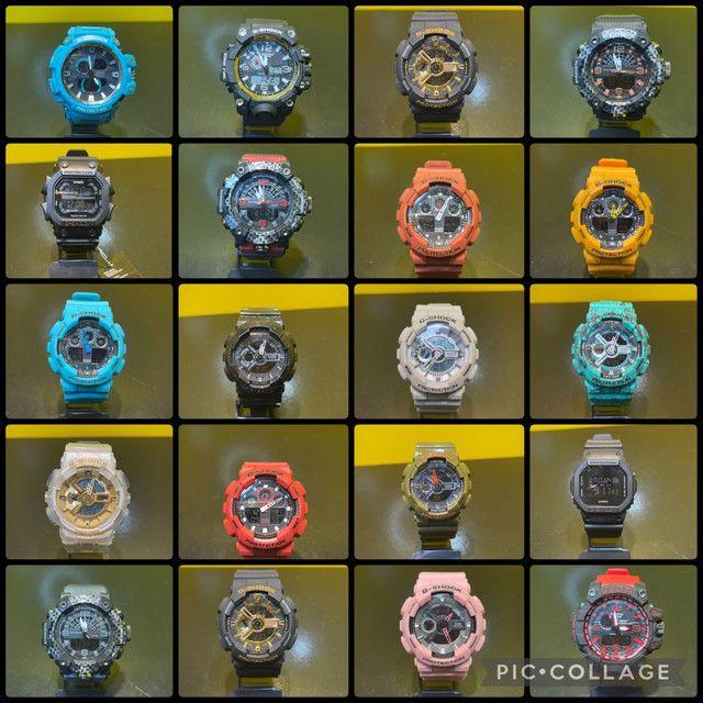 Relógios gshock variados com garantia