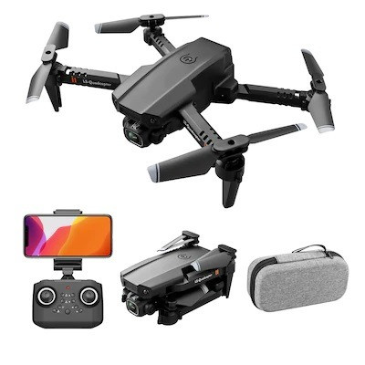 Mini Drone Dobrável Lsrc LS-XT6  WiFi Fpv Câmera 1080P HD 12 mins de Vôo  - Foto 4