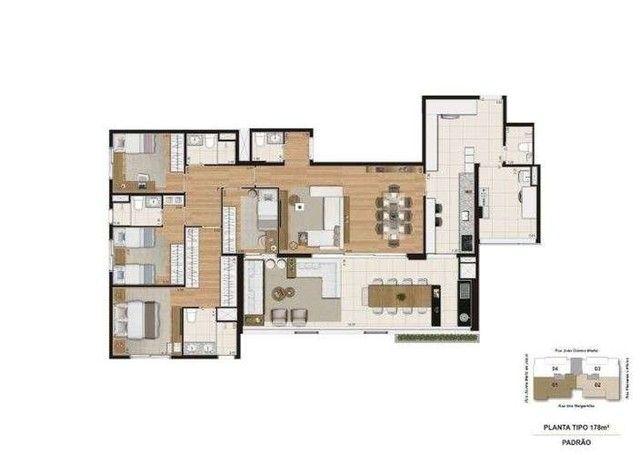 Quartier Brooklin - 137m² - 3 a 4 quartos - Brooklin, SP - ID17646 - Foto 11