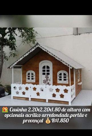 casinhas de bonecas e moveis - Foto 5