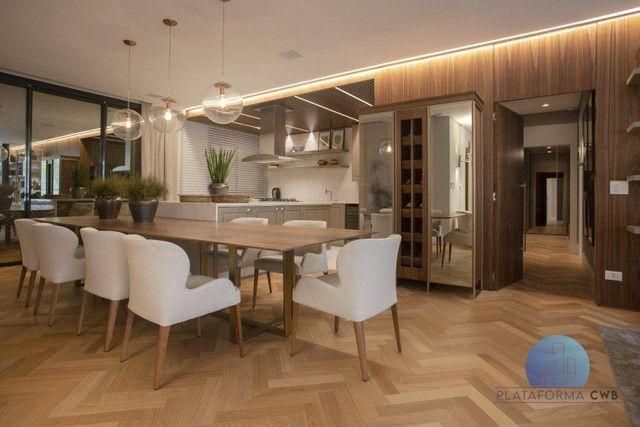 Apartamento Garden com 4 dormitórios à venda por R$ 5.052.200,00 - Cabral - Curitiba/PR - Foto 2