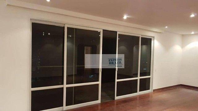 Apartamento com 4 dormitórios para alugar, 335 m² por R$ 14.000,00/mês - Chácara Flora - S - Foto 4