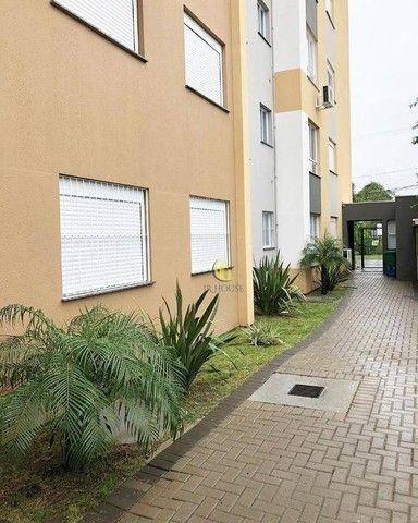 Apartamento com 2 dormitórios para alugar, 56 m² por R$ 800,00/mês - Santa Fé - Gravataí/R - Foto 2