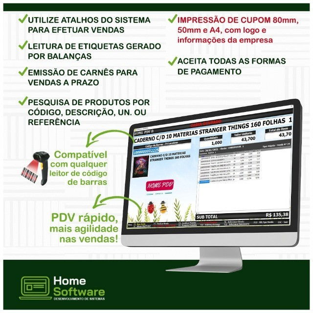 Sistema PDV,Controle Financeiro,Relatório de Caixa,Sem Mensalidade- Marataizes - Foto 6