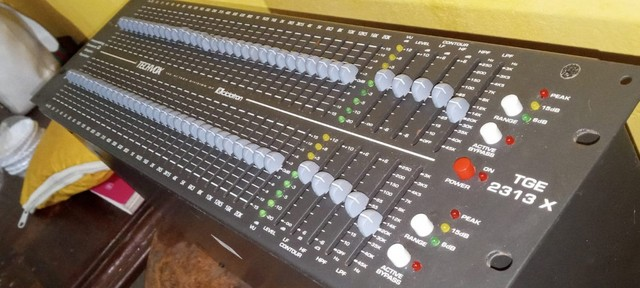 Equalizador Tecvox Tge 2313 X 31 Bandas