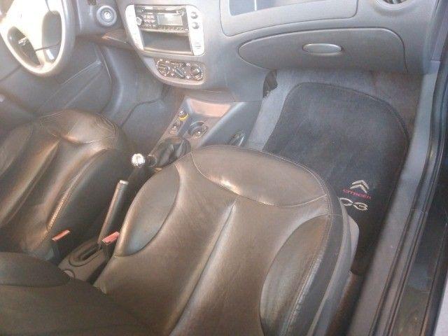 Citroem C3 1.4 GLX  2011/11   8V  lindo,couro - Foto 2