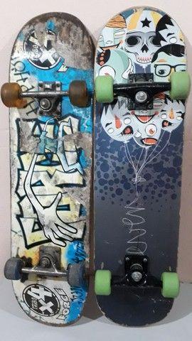 Dois Skates usados mas muito bons ( Valor pelos dois juntos ) - Foto 2