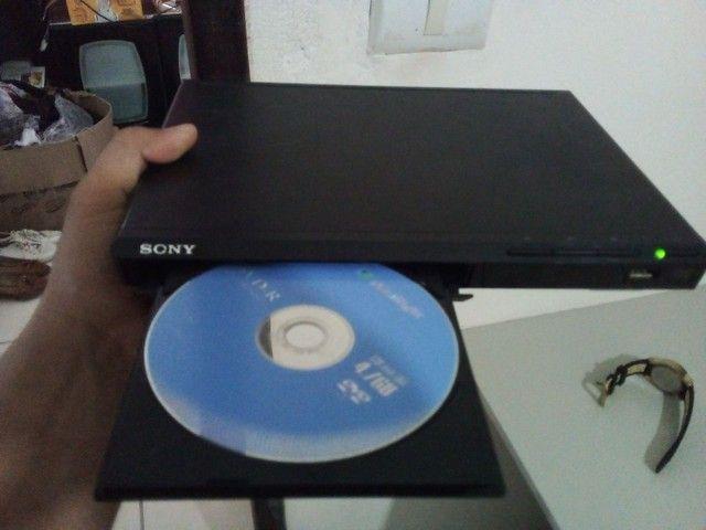 Dvd Sony Dvp-Sr370 Com Usb Bivolt - Preto - Slim<br><br> - Foto 6
