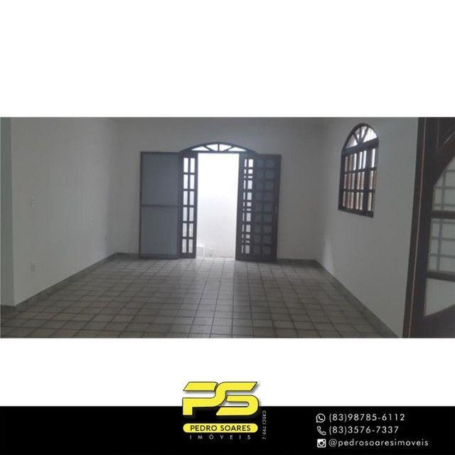 Casa com 3 dormitórios para alugar, 200 m² por R$ 2.500/mês - Castelo Branco - João Pessoa - Foto 2