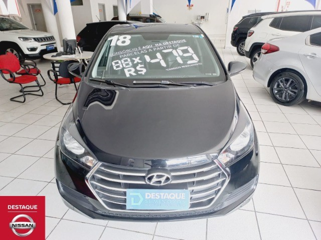 Hyundai HB20S 1.6 Automático 2018 Preto