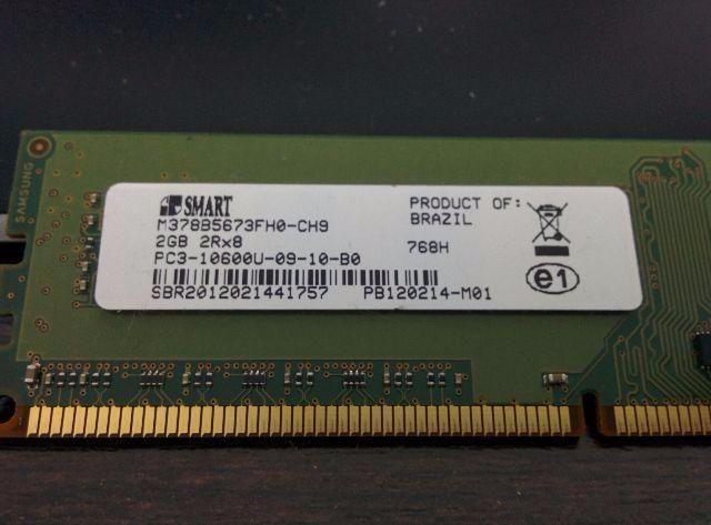 Memoria Smart Dell 2gb Ddr3 Pc3-10600