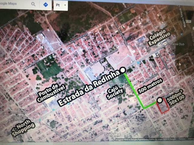 Área de 5.000m2 na zona norte de Natal