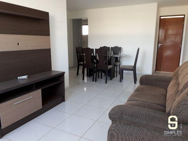 Apartamento de 03 quartos com mobília, no Catolé