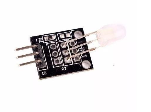 COD-AM93 Módulo Led 5mm 2 Duas Cores Bicolor Rg Arduino Automação Robotica - Foto 3