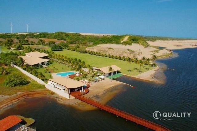 Casa na Lagoa do Uruaú com 6 suítes à venda, por R$ 5.800.000 Porteira fechada- Beberibe - Foto 2