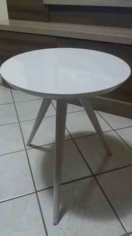 Mesa de centro madeira laqueada nova!