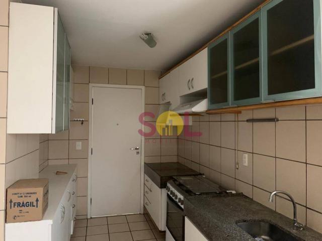 Apartamento com 3 dormitórios próximo ao riverside, 97 m² por r$ 420.000 - jóquei - teresi - Foto 3