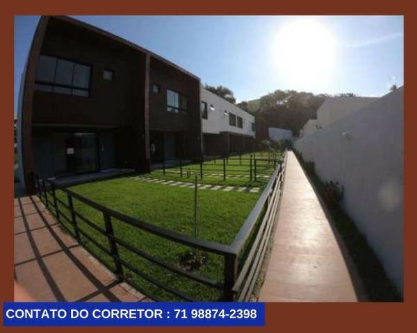 Casa em Patamares Casa com 3 quartos - Dependência - Suíte em 129m² com 2 Vagas, - Foto 4