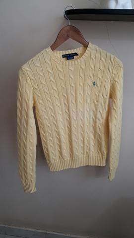 Ralph Lauren original modelo tricot feminina P nova
