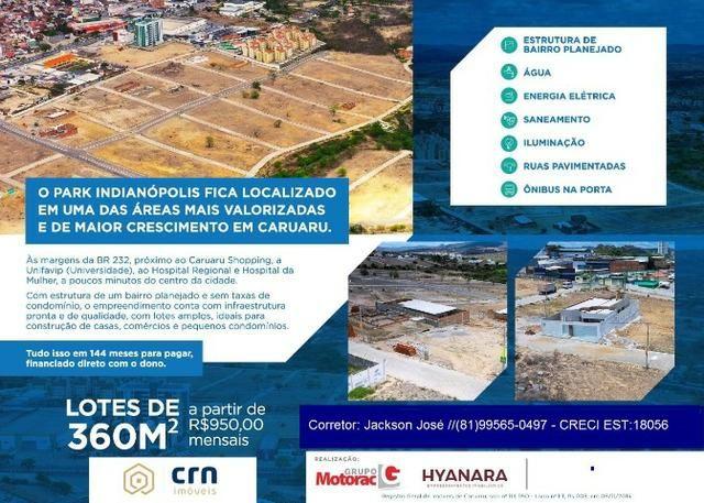 Lotes direto pela construtora, sem consulta spc e serasa, parcelas a partir de R$ 349,00 - Foto 7