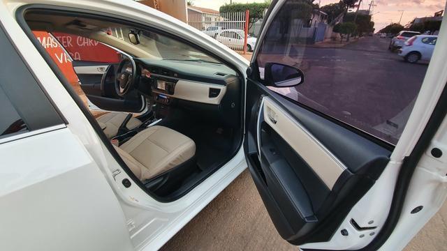 Corolla alts top d linha ano 14/15 automático Flex - Foto 3