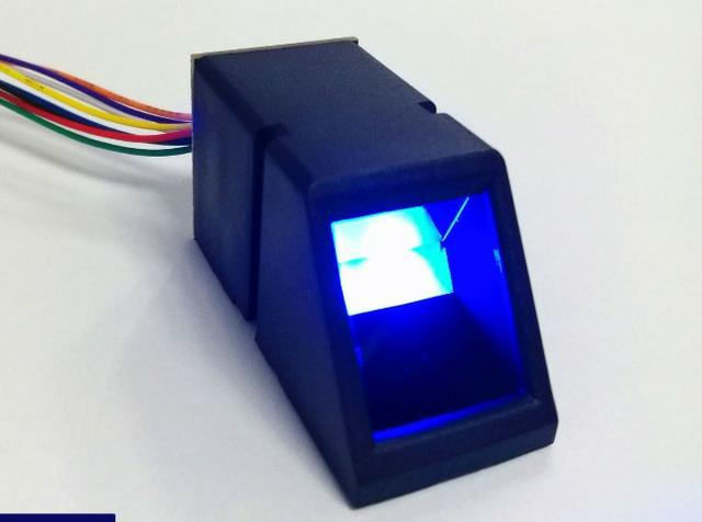 COD-AM183 Módulo Sensor Leitor Biométrico Impressão DigitalArduino Automação Robotica
