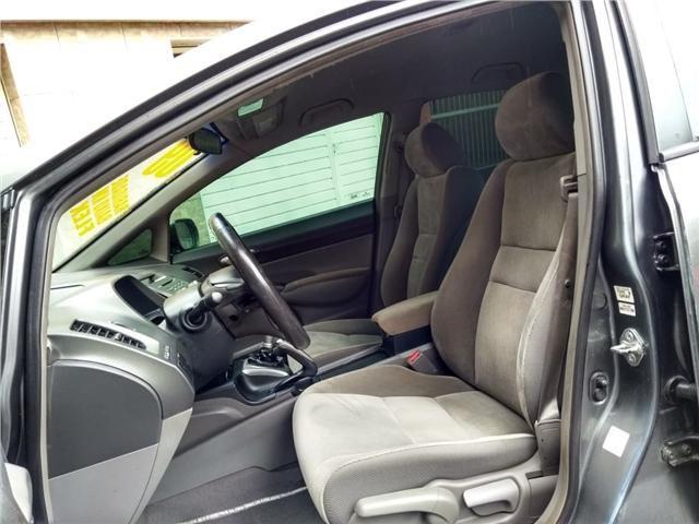 Honda Civic 1.8 lxs 16v flex 4p manual - Foto 8