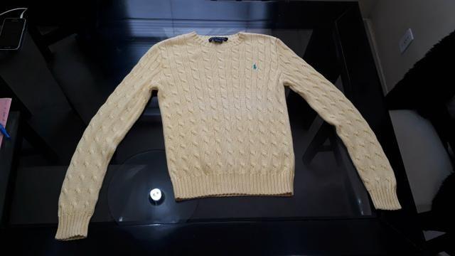 Ralph Lauren original modelo tricot feminina P nova - Foto 4