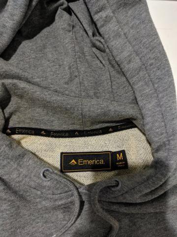 Blusa Moletom Canguru Emerica importado tamanho M - Foto 2