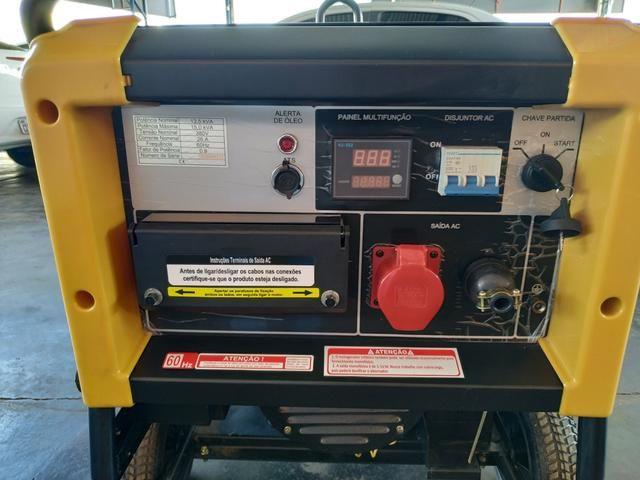 Motogerador diesel trifásico 380v/220v 15.000 buffalo potência máxima 15,0 kva - Foto 3