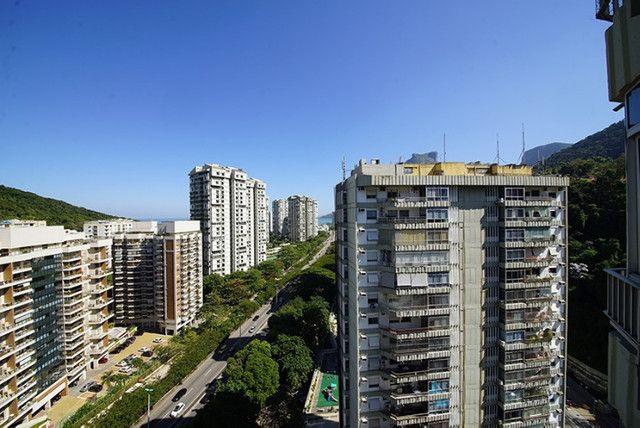 Apartamento Estação São Conrado Metrô na porta 5 minutos Leblon - Foto 11
