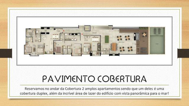 Venha morar na beira mar de praia formosa - 2 e 3 quartos, elevador e lazer na cobertura - Foto 10