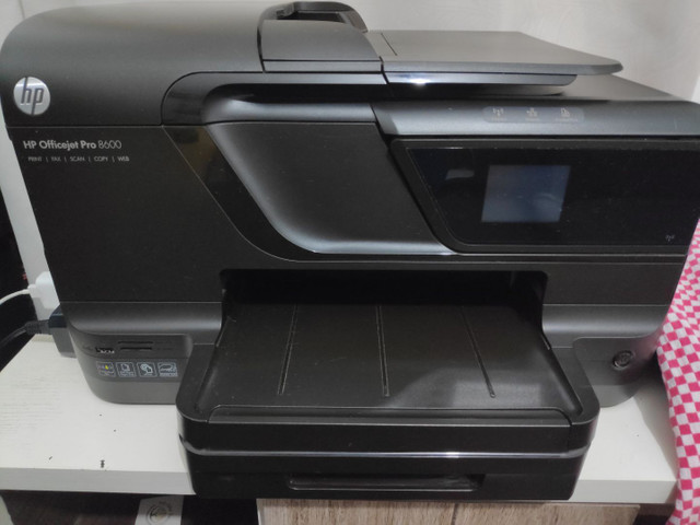 Impressora officejet Pro 8600 - pouco uso.
