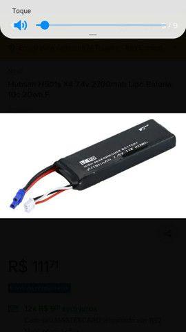 Bateria lipo para drone hubsan 501s