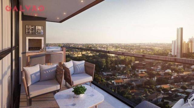 Apartamento com 2 dormitórios à venda, 88 m² por R$ 642.425,79 - Alto da Rua XV - Curitiba - Foto 2