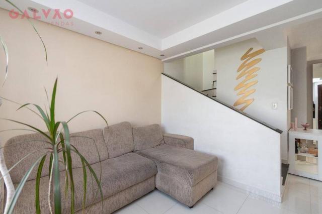 Sobrado com 3 dormitórios à venda, 104 m² por R$ 398.500,00 - Hauer - Curitiba/PR - Foto 4