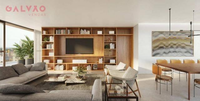 Apartamento com 2 dormitórios à venda, 85 m² por R$ 834.000,00 - Bigorrilho - Curitiba/PR - Foto 3